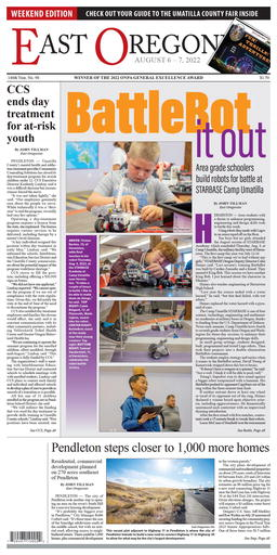 East Oregonian Latest e-edition